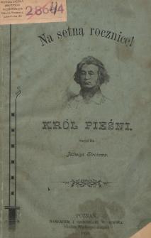 Król pieśni Adam Mickiewicz