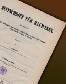 Zeitschrift für Bauwesen, Jg. 18, H. 1-12 (1868)