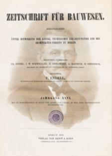 Zeitschrift für Bauwesen, Jg. 26, H. 1-12 (1876)