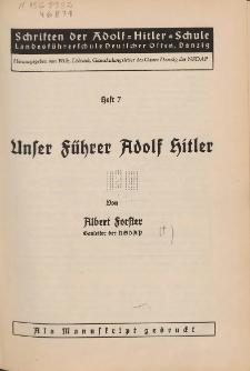 Unser Führer Adolf Hitler