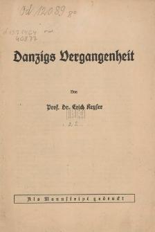 Danzigs Vergangenheit