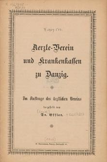 Statut für die Sterbe- und Witwenkasse der Bau-Innung zu Danzig : vom 8. April 1884, genehmigt durch den Bezirksausschuß zu Danzig am 23. Dezember 1885. B. A. 6051 : in der Fassung der Nachträge [...]