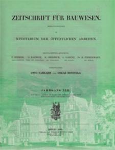 Zeitschrift für Bauwesen, Jg. 42, H. 1-12 (1892)