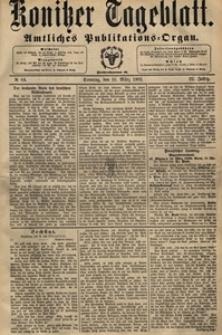 Konitzer Tageblatt.Amtliches Publikations=Organ, nr.63