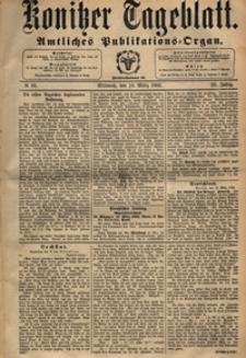 Konitzer Tageblatt.Amtliches Publikations=Organ, nr.65
