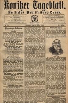 Konitzer Tageblatt.Amtliches Publikations=Organ, nr.71