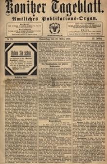Konitzer Tageblatt.Amtliches Publikations=Organ, nr.72