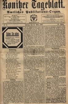 Konitzer Tageblatt.Amtliches Publikations=Organ, nr.73