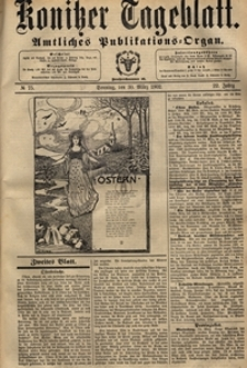 Konitzer Tageblatt.Amtliches Publikations=Organ, nr.75