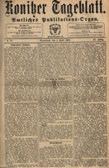 Konitzer Tageblatt.Amtliches Publikations=Organ, nr.79