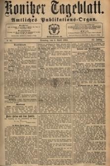 Konitzer Tageblatt.Amtliches Publikations=Organ, nr.80