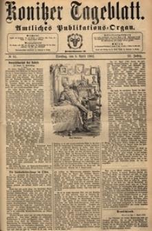 Konitzer Tageblatt.Amtliches Publikations=Organ, nr.81