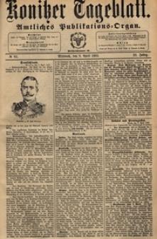 Konitzer Tageblatt.Amtliches Publikations=Organ, nr.82