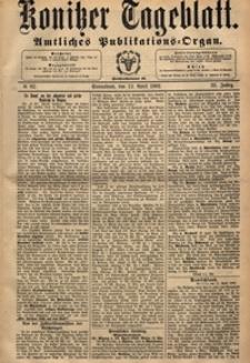 Konitzer Tageblatt.Amtliches Publikations=Organ, nr.85