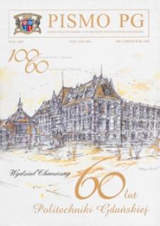 Pismo PG : pismo pracowników i studentów Politechniki Gdańskiej, 2005, R. 13, nr 5 (Maj)