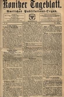 Konitzer Tageblatt.Amtliches Publikations=Organ, nr.88