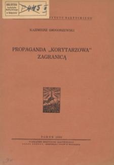 """Propaganda """"korytarzowa"""" zagranicą"""