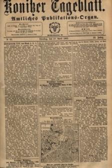 Konitzer Tageblatt.Amtliches Publikations=Organ, nr.92
