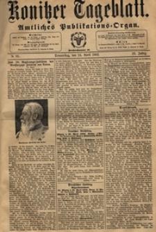 Konitzer Tageblatt.Amtliches Publikations=Organ, nr.95