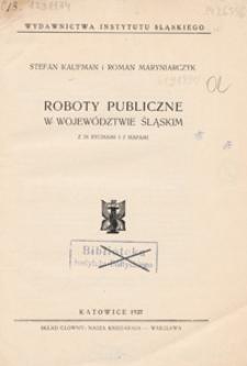 Roboty publiczne w województwie śląskim
