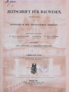Zeitschrift für Bauwesen, Jg. 57, H. 1-12 (1907)