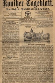 Konitzer Tageblatt.Amtliches Publikations=Organ, nr.97