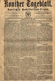 Konitzer Tageblatt.Amtliches Publikations=Organ, nr.102
