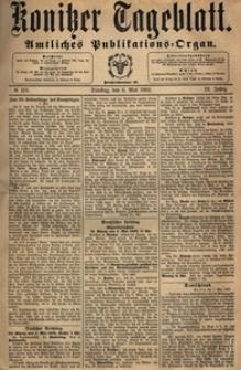 Konitzer Tageblatt.Amtliches Publikations=Organ, nr.105
