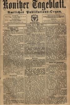 Konitzer Tageblatt.Amtliches Publikations=Organ, nr.108