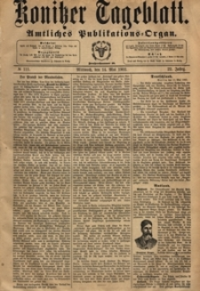 Konitzer Tageblatt.Amtliches Publikations=Organ, nr.110