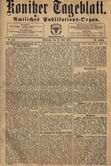 Konitzer Tageblatt.Amtliches Publikations=Organ, nr.120