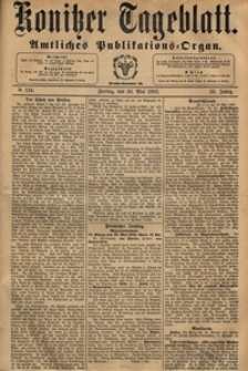 Konitzer Tageblatt.Amtliches Publikations=Organ, nr.123