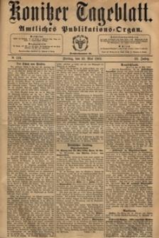 Konitzer Tageblatt.Amtliches Publikations=Organ, nr.124