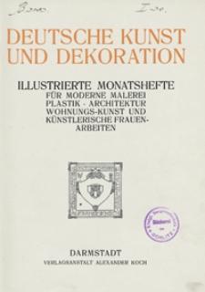 Deutsche Kunst und Dekoration 1911/1912