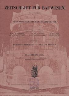 Zeitschrift für Bauwesen, Jg. 70, H. 1-12 (1920)