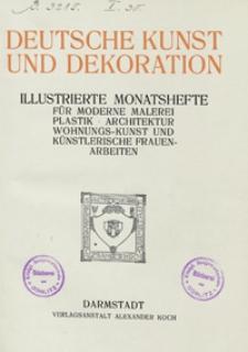 Deutsche Kunst und Dekoration 1912/1913
