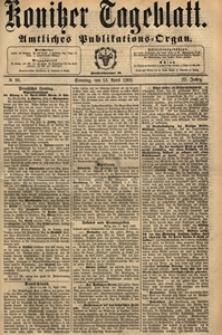 Konitzer Tageblatt.Amtliches Publikations=Organ, nr.132