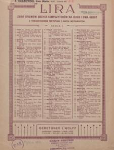 Ave Maria : duet : Es-dur : na sopran, alt i organy [lub fortepian]