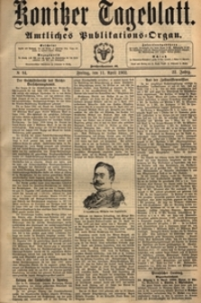 Konitzer Tageblatt.Amtliches Publikations=Organ, nr.134