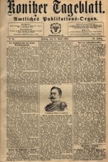 Konitzer Tageblatt.Amtliches Publikations=Organ, nr.137