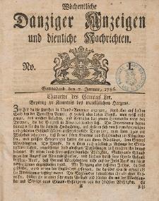 Gemeinnützige Danziger Anzeigen Erfahrungen und Erläuterungen allerley nützlicher Dinge und Seltenheiten 1786