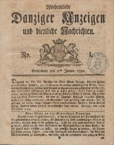 Gemeinnützige Danziger Anzeigen Erfahrungen und Erläuterungen allerley nützlicher Dinge und Seltenheiten 1790