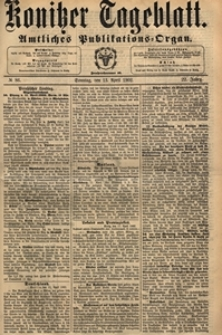 Konitzer Tageblatt.Amtliches Publikations=Organ, nr.145