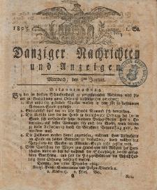 Königlich Preußische Danziger Nachrichten und Anzeigen zum Nutzen und zur Bequemlichkeit des Publikums 1805