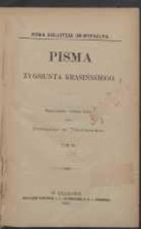 Pisma Zygmunta Krasińskiego. T. 3