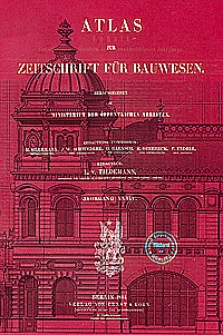 Atlas zur Zeitschrift für Bauwesen, Jg. 34, H. 1-12 (1884)