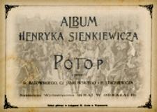 Album Henryka Sienkiewicza - Potop / rys. St. Batowskiego, Cz. Jankowskiego i P. Stachiewicza