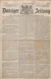 Danziger Zeitung: Organ für Handel..., 1920.11.08 nr 526