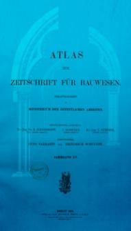 Atlas zur Zeitschrift für Bauwesen, Jg. 55, H 1-12 (1905)