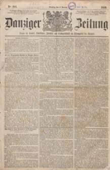 Danziger Zeitung: Organ für Handel..., 1921.11.01 nr 495